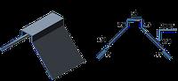 Планка конька ПК-3