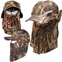 Кепка-шлем Browning Quik Camo Face Mask Cap
