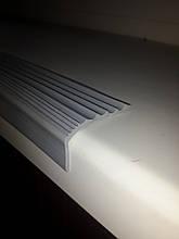 Резиновая антискользящая накладка на ступени (Серая)