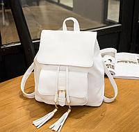 Рюкзак городской белый