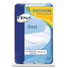 Пелюшки для дорослих і дітей Tena Bed Normal 60х90, 30шт.