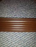 Резиновая антискользящая накладка на ступени (Коричневая), фото 3