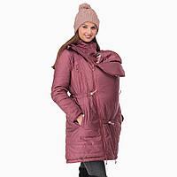 Зимняя куртка 3 в 1 для беременных и слингоношения - Роуз