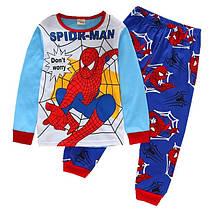 Пижама трикотажная человек паук и бетмен, фото 2
