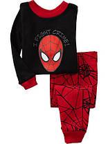 Пижама трикотажная человек паук и бетмен, фото 3