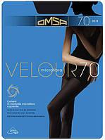 Колготки женские Omsa Velour 70 Den Antracite