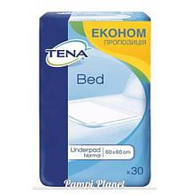 Пелюшки для дорослих і дітей TENA Bed normal 60x60 см 30 шт