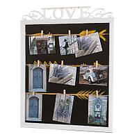 """Мультирамка """"Love"""" (арт. 138I/white-1)"""