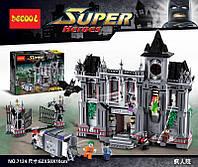 Конструктор серии Decool 7124 (АналогLEGO Super Heroes Arkham Asylum Breakout 10937)