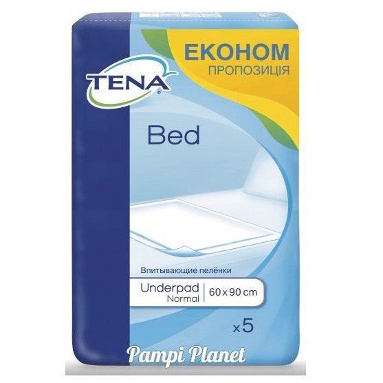 Пелюшки для дорослих і дітей Tena Bed Normal 60х90 5шт.
