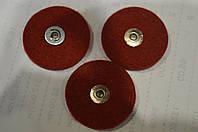 Круг фетровый Ø30x5 (красный)