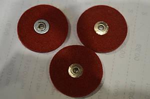 Круг фетровый Ø30x2 (красный)