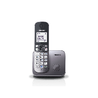 Телефон DECT PANASONIC KX-TG6811UAM Metallic