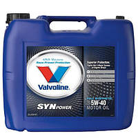 Масло моторное Valvoline Synpower 5W-40 20л.