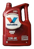 Масло моторное Valvoline Maxlife Diesel 10W-40 5л.