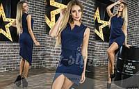 Платье асимметрия в расцветках 23153, фото 1