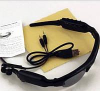 Солнцезащитные очки Sunglasses с MP3-плеером и записью видео/фото