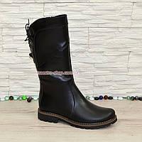 Женские ботинки кожаные на меху от производителя, фото 1