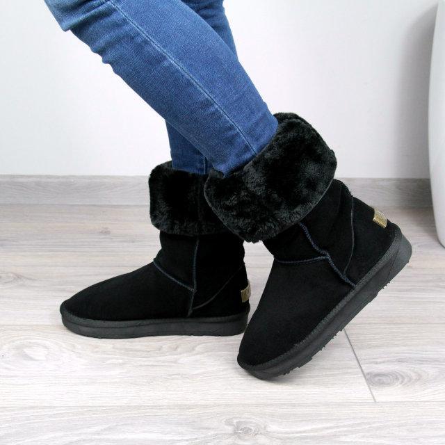 ad1973658f4e Угги женские UGG Высокие натуральная замша 3690, зимняя обувь - AlexTop в  Днепре