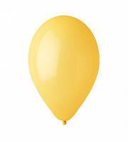 """Воздушный шар  пастель желто-горчичный 12"""" (30 см)"""