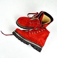 Ботинки змейка зима