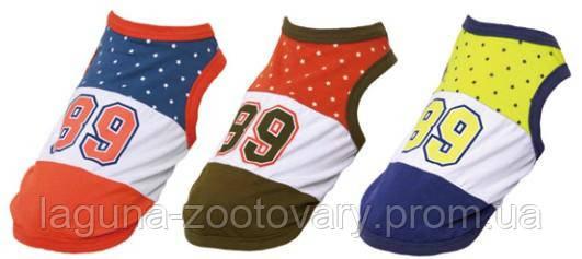 "Футболка ""ВЕСТ 89"" для собак, оранжевый/хаки, размеры XS, S, M, L, XL, фото 2"
