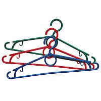 Плечики для летней одежды цветный
