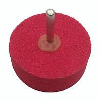 Вспененный абразив на дрель Pilim - 50 x 25мм x P120 красный