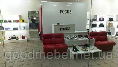 Торговое оборудование для магазина одежды, обуви и сумок