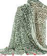 Стильная женская шаль, Trаum 2494-80, полиэстер, хлопок,180х90 см, цвет белый., фото 2