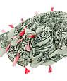 Стильная женская шаль, Trаum 2494-80, полиэстер, хлопок,180х90 см, цвет белый., фото 3