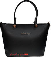 Женская сумка из эко кожи на круглой фурнитуре