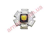 Светодиод Cree MC-E (4*Q5) для фонарей POLICE на подложке 20 мм