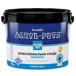 Шпаклевка финишная Sniezhka Acryl-Putz FS20 (27 кг)