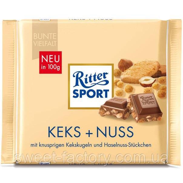 Шоколад Ritter Sport Печенье-орех