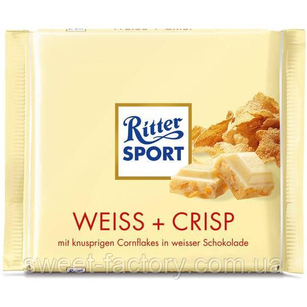 Шоколад Ritter Sport белый с хлопьями