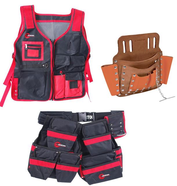 Пояси, фартухи, кишені для інструментів