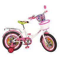 Велосипед детский  16 дюймов. Артикул  MI166B. Дизайн Disney. Гарантия качества. Быстрая доставка.