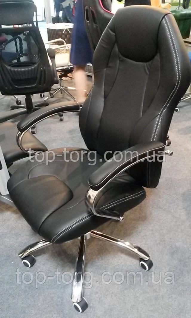 Кресло офисное Cross black E4787 хром