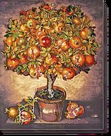 Набор для вышивки бисером на холсте «Гранатовое дерево»
