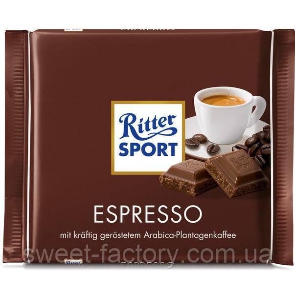 Шоколад Ritter Sport Эспрессо