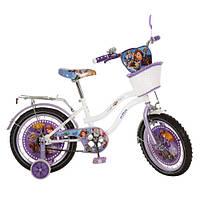 Велосипед детский  16 дюймов. Артикул  SF168B. Дизайн Sofia.Гарантия качества. Быстрая доставка.