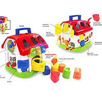 Музыкальная игрушка-сортер «Домик» 0772-NL WinFun