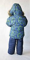 Зимний комбинезон для мальчика детский 3 - 4 года
