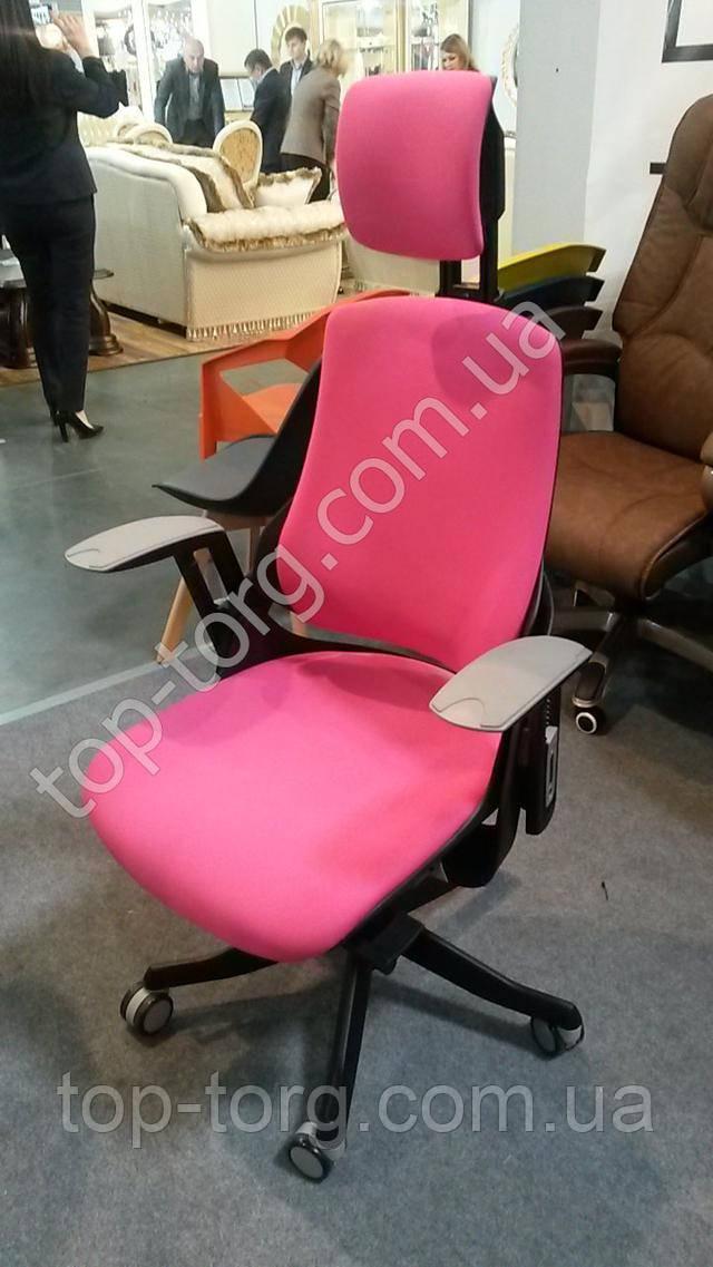 Крісло офісне Wau magеnta fabric E0734