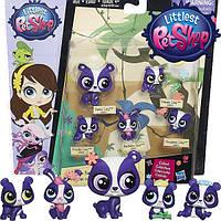 Лител Пет Шоп маленький зоомагазин фигурки Cемейка - Панды Hasbro Littlest Pet Shop