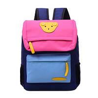 Рюкзак детский школьный городской цветной мишка