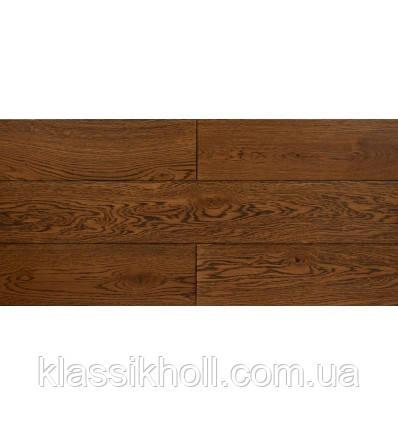 Массивная доска Porta Vita Дуб, pустик,  структ.браш, колор №61/43  М3032