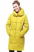 Стильное стеганое молодежное пальто Санта