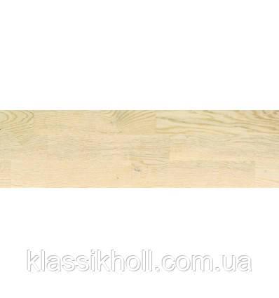 Паркетная доска BEFAG, Дуб дунайский,натур белый лак, коллекция 3-х полосный дизайн, фото 2